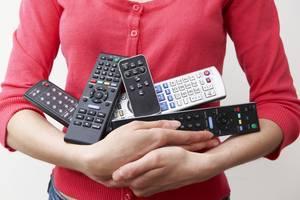 Replace multiple remote controls with a single universal remote control