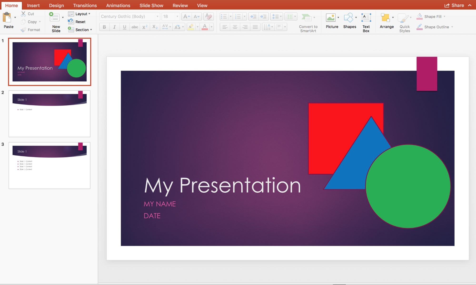 Microsoft PowerPoint Tuition